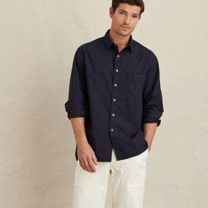 Alex Mill Wash and Go Black Button Down Size XL